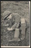 Photo Ancien / Foto / Photograph / Boy / Garçon / Postcard Size - Anonyme Personen