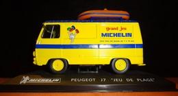 """Peugeot J7 """"Jeu De Plage"""" - Michelin  - 1/43 - Utilitaires"""