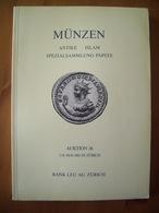 ALBUM CATALOGUE MONNAIES / ANTIQUES / ROMAINES / BYZANTINES / ISLAMIQUES / PAPALES - Livres & Logiciels