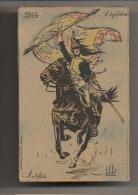 Illustration Vallet - L'Equitation Autrefois - 1804 - Dragon Porte Drapeau - Cavalier  - Militaire En 1804 - Autres