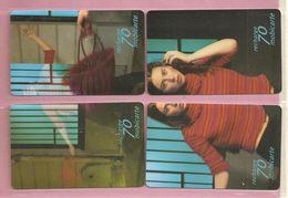 France, Lot De 4 Mobicarte, TB - Phonecards