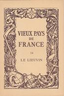 Laboratoires Mariner Vieux Pays De France N°34 Le Lieuvin Carte - Cartes Géographiques