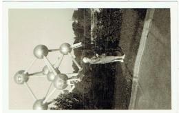 Foto/Carte Photo. Laeken. Atomium. Expo 58 ? - Lieux