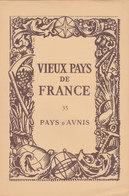 Laboratoires Mariner Vieux Pays De France N°35 Pays D Aunis Carte Charente Maritime - Cartes Géographiques
