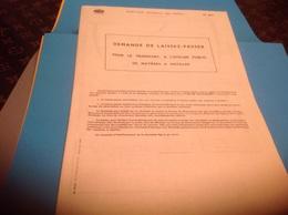 Document Descriptif Demande De Laissez-passer Pour Transport De Matières à Distiller à L Ateliers Public - Decrees & Laws