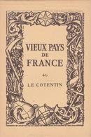 Laboratoires Mariner Vieux Pays De France N°46 Le Cotentin Carte - Cartes Géographiques