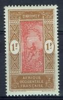 Dahomey (French Colony), Palmtree, 1f., 1927, MH VF - Dahomey (1899-1944)