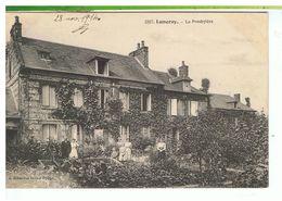 CPA-76-1914-LUNERAY-LE PRESBYTÈRE-ANIMEE-DES FEMMES ET DES ENFANTS DEVANT LA MAISON- - France