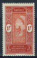 Dahomey (French Colony), Palmtree, 1f., 1927, MNH VF - Dahomey (1899-1944)