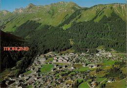 CPM Morgins, La Station Et La Tête Du Géant - VS Valais