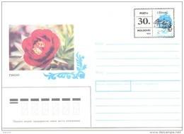 "1993. Moldova, Local OP ""30.00"" On Soviet Stamp, Cainari District, Mint/** - Moldavia"