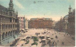 Bruxelles - CPA - Grand'Place - Bossen, Parken, Tuinen