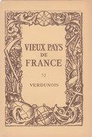 Laboratoires Mariner Vieux Pays De France N°52 Verdunois Carte - Cartes Géographiques