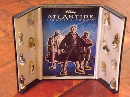 Sèrie De Fèves Complète En Coffret  : L'atlantide - Disney