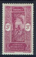 Dahomey (French Colony), Palmtree, 3f., 1927, MNH VF - Dahomey (1899-1944)
