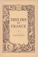 Laboratoires Mariner Vieux Pays De France N°55 Agenois Carte - Cartes Géographiques