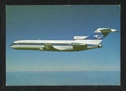 Kuwait Airways Airline  Picture Postcard Boeing 727 Airplane View Card - Kuwait