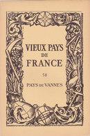 Laboratoires Mariner Vieux Pays De France N°58 Pays De Vannes Carte Morbihan - Cartes Géographiques
