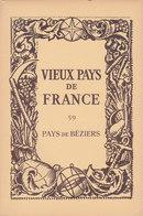 Laboratoires Mariner Vieux Pays De France N°59 Pays De Béziers Carte - Cartes Géographiques