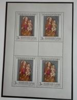 Tchécoslovaquie 1968  Painting PAVOL Z LEVOCE   Block  4 Stamps - Neuf Avec Gomme Originale - MUH - Ungebraucht