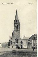 CPA (belgique) SAINT GHISLAIN L Eglise - Saint-Ghislain