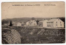 39-Les ROUSSES- Le Faubourg Et Le RISOUX- CPA- Edition Vve D.Bonnefoy - France