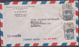 ENVELOPPE TIMBRE PAR AVION  1951   ALMANIA MEXICO A  MUNCHEN  EN ALLEMAGNE  VOIRPHOTOS - Mexico