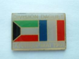 PIN'S DIVISION DAGUET - FEVRIER MAI 91 - Militari