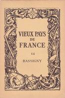 Laboratoires Mariner Vieux Pays De France N°64 Bassigny Carte - Cartes Géographiques