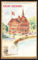 CHROMO   Chocolat SUCHARD  Exposition Universelle De Paris 1900  Palais  Palace World Expo Suisse Tour Eiffel   Serie 87 - Suchard