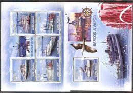 GUINEA-BISSAU  Ships,bird Sheetlet+S/Shhet  MNH - Ships
