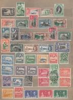 Cayman Ceylon Aden Antigua Falkland Nice Different Used/Mint Stamps Lot #12736 - Grossbritannien (alte Kolonien Und Herrschaften)