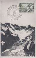 Carte  Maximum   Rattachement   De   La   SAVOIE    SAINT  JEAN  De    MAURIENNE     1960 - Cartes-Maximum