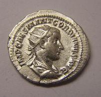 GORDIEN III Marcus Antonius / PAX AUGUSTI (+238 Ap JC) Denier / Billon R1 - 5. The Military Crisis (235 AD To 284 AD)