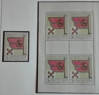 Tchécoslovaquie 1969  Château De Prague  -block 4 + 1 Timbre  Neuf Avec Gomme Originale - MUH ** Parfait - Ungebraucht