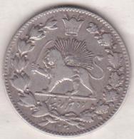 Iran. 2000 Dinars AH 1330 (1911)  Sultan Ahmad Shah. . Argent. KM# 1041 - Iran
