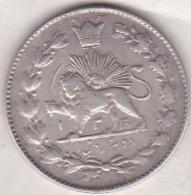 Iran. 2000 Dinars AH 1330 (1911) .Sultan Ahmad Shah. Argent. KM# 1043 - Iran