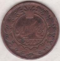 Iran. 50 Dinars AH 1295. Nasir Al-Din Shah. Copper. KM# 883. - Irán