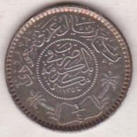 Saudi Arabia 1/4 Riyal AH 1354 . Abd Al-Aziz . Argent.  KM# 16 - Arabie Saoudite