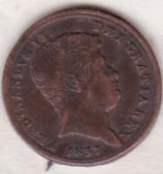 Medaglia Ferdinando II  1837 - Italie