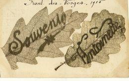 CPA (  88) FRONT DES VOSGES 1915 Souvenir Antoinette    (b Bur) - Guerre 1914-18