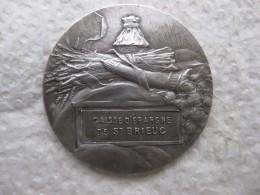 Médaille En Argent, CAISSE EPARGNE De St BRIEUC, Par Ch. Pillet - France