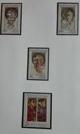 1969  ART Alfons Mucha -4 Timbres   Neuf Avec Gomme Originale - MUH ** Parfait - Ungebraucht