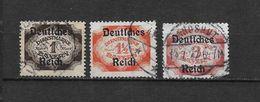 LOTE 1639  ///  ALEMANIA BAYERN   YVERT Nº: SERVICE 73+75+77  */**/NSG - Bavaria