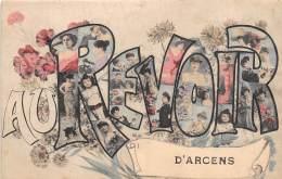 07 - ARDECHE / 07596 - Arcens - Belle Carte Fantaisie - Other Municipalities
