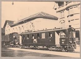 Tavannes Noirmont - BCe 2/4 Nr. 60 In Tavannes - Railway - Trains - Bahn - Trenes