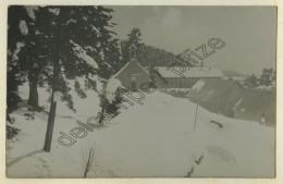 Chasseurs Alpins Au Tournairet . Poste D'hiver . - Guerre, Militaire