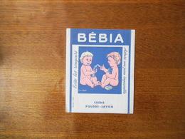 BEBIA  CREME POUDRE-SAVON EVITE LES ROUGEURS ASSURE UNE PEAU IMPECCABLE - Bambini