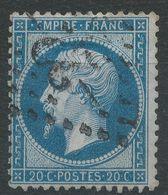 Lot N°40813  N°22, Oblit GC -22- Aigues-Mortes, Gard (29), Ind 4 - 1862 Napoleon III
