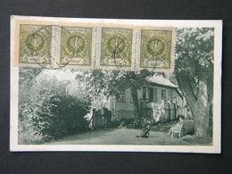 POLAND -   KAMIENIEC POD GDYNIĄ - ULICA LIPOWA -WILLA DWOR - Kamienna Góra- 1924 - Polonia
